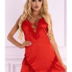 Ohnivá košilka Landim red – LivCo Corsetti