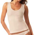 Bavlněná košilka se širokými ramínky Cotone Basic Intimidea Barva: