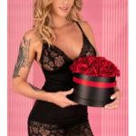 Květinová košilka Narca – LivCo Corsetti