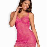 Sladká košilka 860-CHE pink – Obsessive