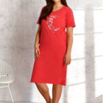 Dámská noční košile Taro Bella 2304 kr/r 4XL-6XL