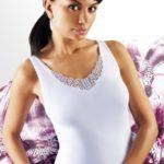 Dámská košilka Emili Ailin S-XL bílá