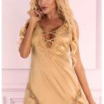Zlatá košilka Landim gold – LivCo Corsetti