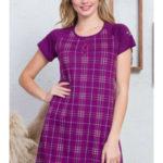 Dámská noční košile s krátkým rukávem Kateřina