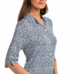 Dámská noční košile s knoflíky Vamp 14137 – 551