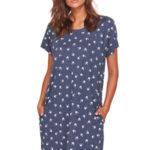 Těhotenská/kojící noční košile Dn-nightwear TCB.9701