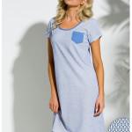 2174 Krátká dámská noční košile LUCY S-XL – TARO