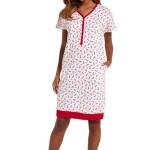 Noční košile 637/149 Red Shoes