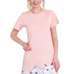 Bavlněná noční košile Jacky růžová
