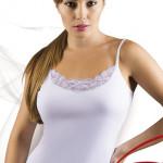 Bílá spodní košilka Tosia
