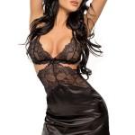 Dámská košilka Adelaide chemise black