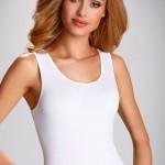 Dámská košilka Clarissa plus white