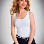 Dámská košilka Kasandra white