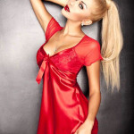 Dámská košilka Klara red