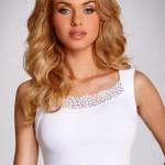 Dámská košilka Klaudia white