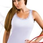 Dámská košilka Lea white