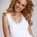 Dámská košilka Liliam white