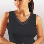 Dámská košilka Majka black