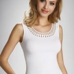 Dámská košilka Olinea white