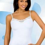 Dámská košilka Pati white