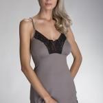 Dámská košilka Rena grey-black