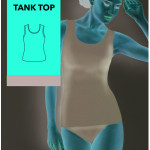 Dámská košilka – Tank Top – GATTA BODYWEAR
