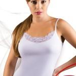 Dámská košilka Tosia plus white
