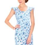 Dámská letní košilka Elena modrá