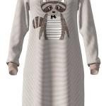 Dámská noční košile 17-4965 – Vamp