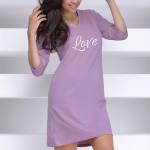 Dámská noční košile Anita fialová