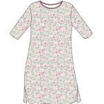 Dámská noční košile Cornette 641/198 Flowers 5 3/4 S-2XL