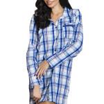 Dámská noční košile Dalia modrá