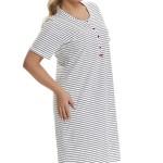 Dámská noční košile Dn-nightwear TB.9435