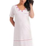Dámská noční košile Maggie s puntíky