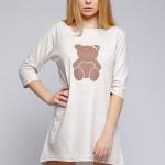 Dámská noční košile Malý medvídek