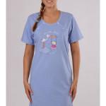 Dámská noční košile mateřská Čáp a houpačka