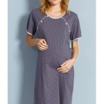 Dámská noční košile mateřská Puntík
