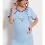 Dámská noční košile mateřská s krátkým rukávem Štěně