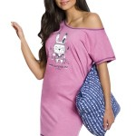 Dámská noční košile Matylda růžová