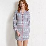 Dámská noční košile Nora 3323 – Vienetta