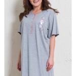 Dámská noční košile s krátkým rukávem Beruška