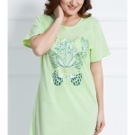 Dámská noční košile s krátkým rukávem Harmonie