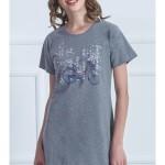 Dámská noční košile s krátkým rukávem Kolo
