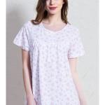 Dámská noční košile s krátkým rukávem Kristýna