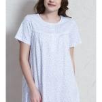 Dámská noční košile s krátkým rukávem Ludmila