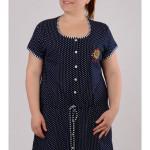 Dámská noční košile s krátkým rukávem Marina