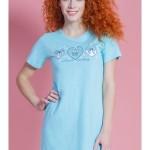 Dámská noční košile s krátkým rukávem Sabrina