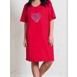 Dámská noční košile s krátkým rukávem Wild heart