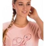 Dámská noční košile s krátkým rukávem Želva Vienetta