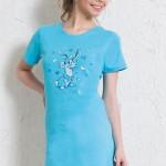 Dámská noční košile Zajíc 5453 – Vienetta